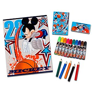 Mickey Mouse Art Supply Kit