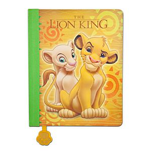 The Lion King Drawing Notebook
