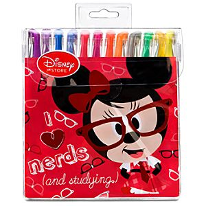 Nerds Mickey and Minnie Mouse Gel Pen Set