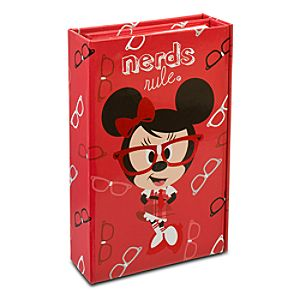 Tri-Fold Nerds Mickey and Minnie Mouse Journal