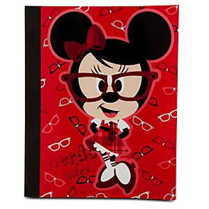 Nerds Mickey and Minnie Mouse Journal