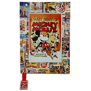 Disney Nostalgia Mickey Mouse Journal
