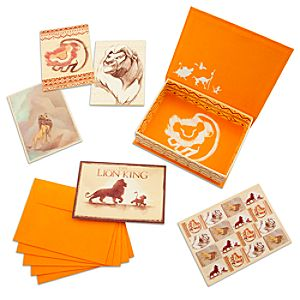 The Lion King Note Cards