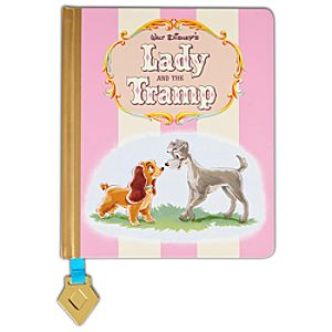 Disney Store 25th Anniversary Vintage Lady and the Tramp Journal