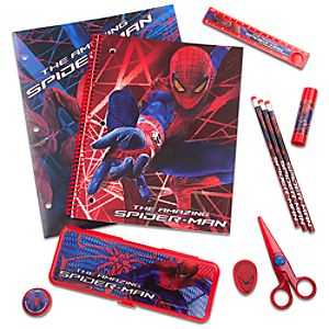 The Amazing Spider-Man School Supply Kit