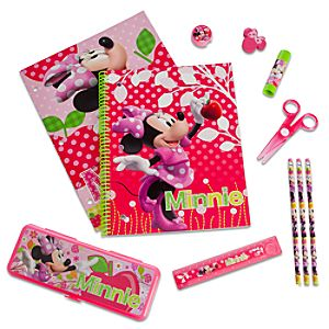 Minnie Mouse School Supply Kit