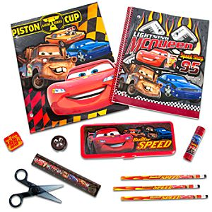 Lightning McQueen School Supply Kit