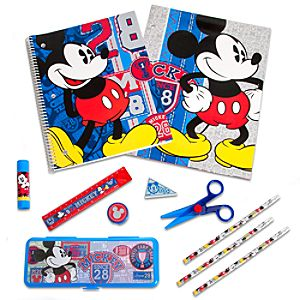 Mickey Mouse School Supply Kit