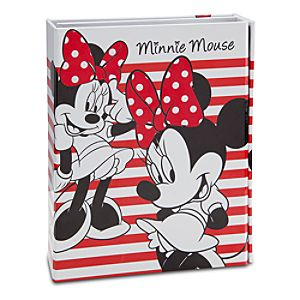 Tri-Fold Minnie Mouse Journal