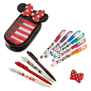 Minnie Mouse Pen and Pencil Set