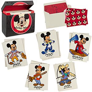 The Mickey Mouse Club Note Card Set -- 20-Pc.