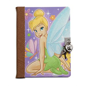 Tinker Bell Journal with Lock