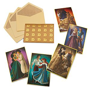 Disney Princess Fairytale Note Card Set