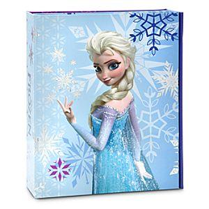 Frozen Tri-Fold Journal