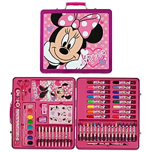 Minnie Mouse Tin Art Case Set
