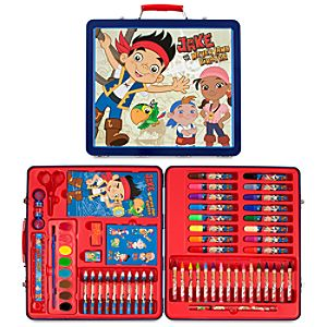 Jake and the Never Land Pirates Tin Case Art Set