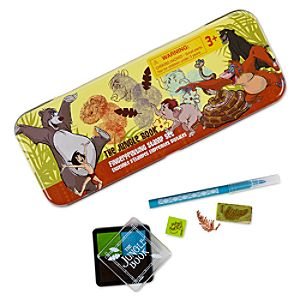 The Jungle Book Finger Printing Stamp Set