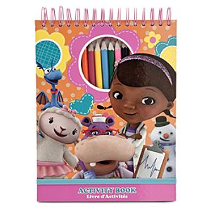 Doc McStuffins Activity Book