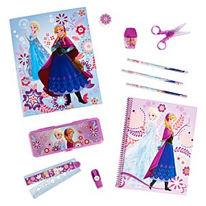 Anna and Elsa Stationery Supply Kit - Frozen