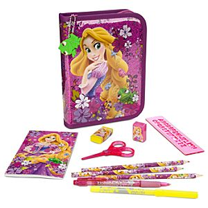 Rapunzel Zip-Up Stationery Kit