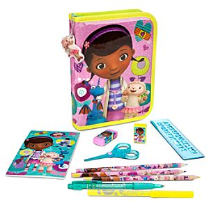 Doc McStuffins Zip-Up Stationery Kit