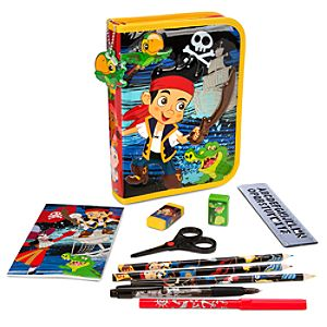 Jake and the Never Land Pirates Zip-Up Stationery Kit