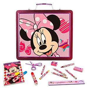Minnie Mouse Tin Art Case Set