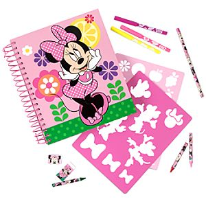 Minnie Mouse Fun on the Run Art Pack