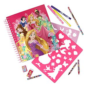 Disney Princess Fun on the Run Art Pack