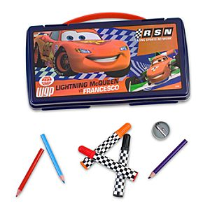 Cars 2 Art Kit Case