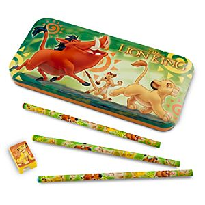 The Lion King Pencil Case Set