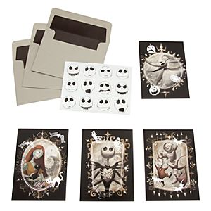 Tim Burtons The Nightmare Before Christmas Note Card Set