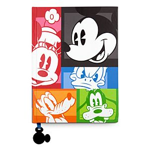 Mickey Mouse and Friends Portrait Journal