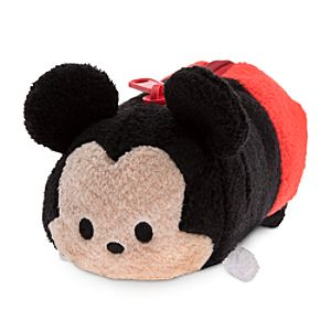 Mickey Mouse Tsum Tsum Plush Pencil Case