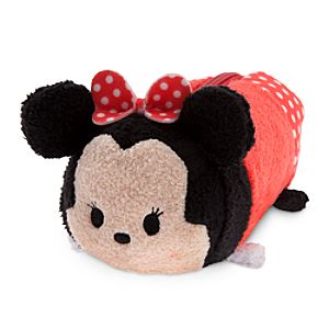 Minnie Mouse Tsum Tsum Plush Pencil Case