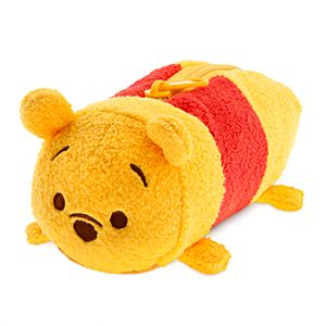 Winnie the Pooh Tsum Tsum Plush Pencil Case