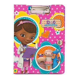 Doc McStuffins Clipboard Stationery Set