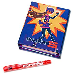 Big Hero 6 Tri-Fold Journal - Pre-Order