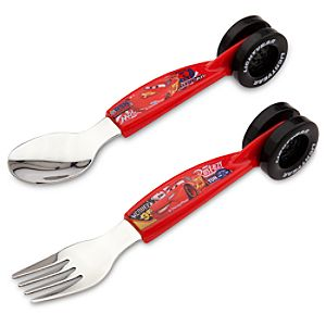 Lightning McQueen Flatware Set
