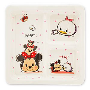Minnie Mouse and Daisy Duck Tsum Tsum Plate