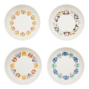Disney Tsum Tsum Melamine Sauce Plate Set