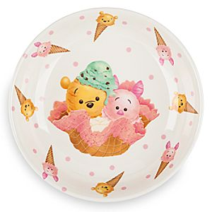 Winnie the Pooh and Piglet Tsum Tsum Plate