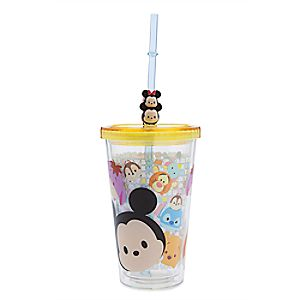 Tsum Tsum Tumbler with Straw