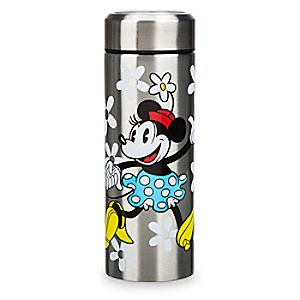 Mickey and Minnie Mouse Stainless Steel Water Bottle