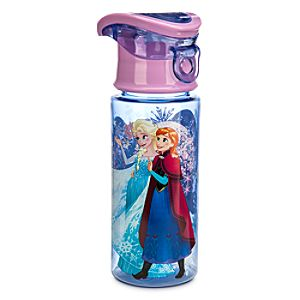 Anna and Elsa Water Bottle
