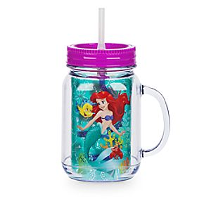 Ariel Jelly Jar with Straw - Small