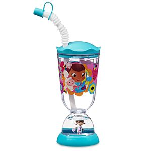 Doc McStuffins Snowglobe Tumbler with Straw