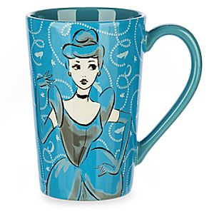 Cinderella Fashion Sketch Mug
