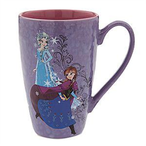 Anna and Elsa Jumbo Latte Mug