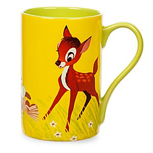 Bambi and Thumper Record Cover Mug